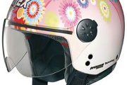 Flower Power Jet-Helm