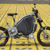 Human-Hybrid, ein Motor-Fahrrad