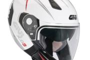 Der Givi X.03, ein Jethelm mit Kinnschutz