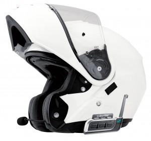 Kommunikationsanlage montiert Helm