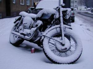 motorrad winter